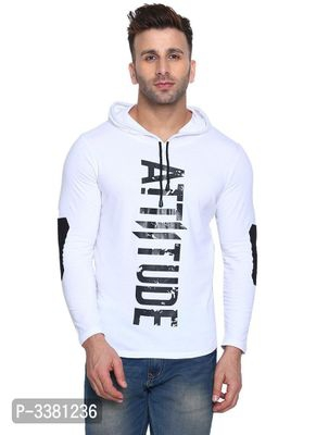 Stylish Printed Cotton Hooded Tees