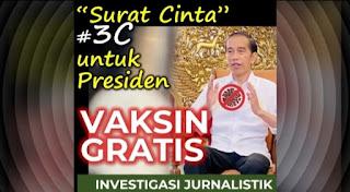 E27C | Surat Cinta #3C untuk Presiden: VAKSIN GRATIS