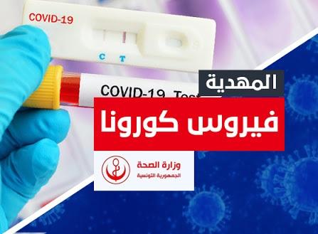 المهدية : 475 إصابة جديدة بفيروس كورونا خلال أسبوع