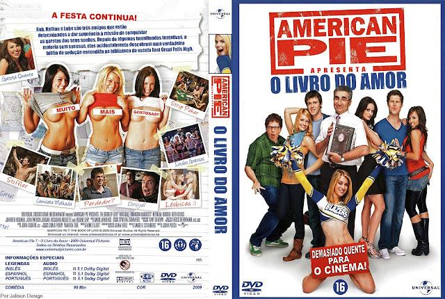 Capa DVD American Pie O Livro do Amor
