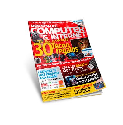 Revista Personal Computer & Internet 169 - 30 ideas para Navidad!!