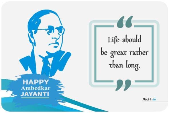 Happy B.R Ambedkar Jayanti Greetings ideas