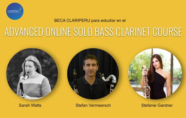 Clariperu beca para estudiar clarinete bajo en Inglaterra. Comunidad Clariperu