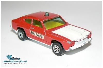 Corgi Juniors, Ford capri