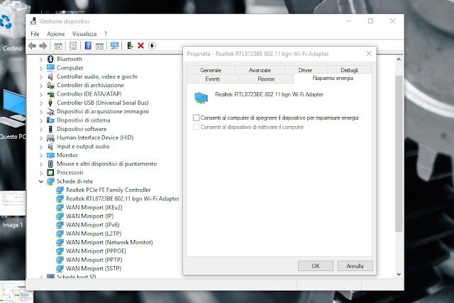 gestione dispositivi windows 10 screen-shot