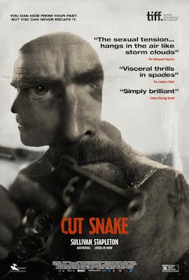 Cut Snake Poster
