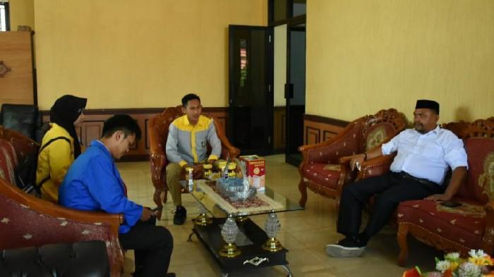 Jelang Pelantikan, IPM Audiens dengan Ketua DPRD Sinjai