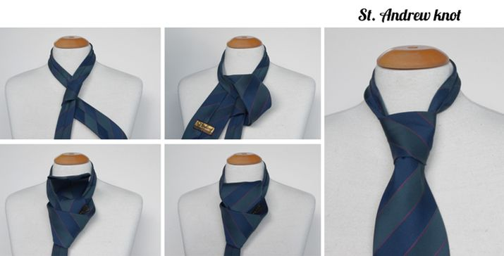 Andrew tie knot instructions