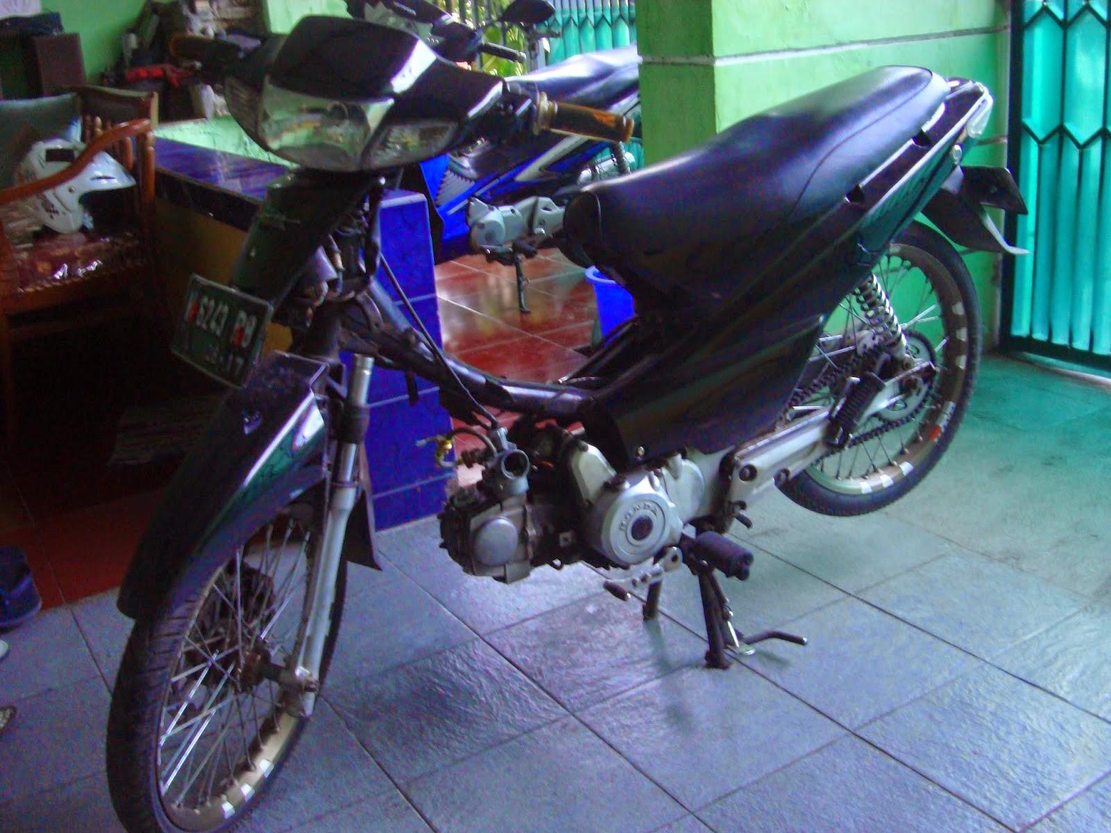 Modifikasi Motor Supra X 100 Kontes