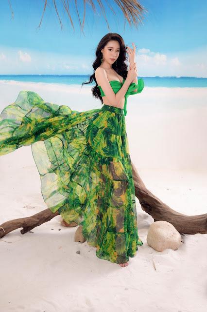 Ảnh người đẹp Việt Nam mặc bikini: Người đẹp Nguyễn Hoàng Bảo Châu mặc bikini 7