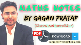 [PDF] Maths Notes By Gagan Pratap Sir