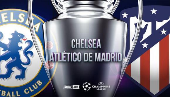 Atlético de Madrid vs. Chelsea: por Champions League