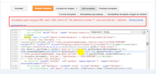 Cara Verifikasi Blog ke Metode Google Tag Manager di Blogspot