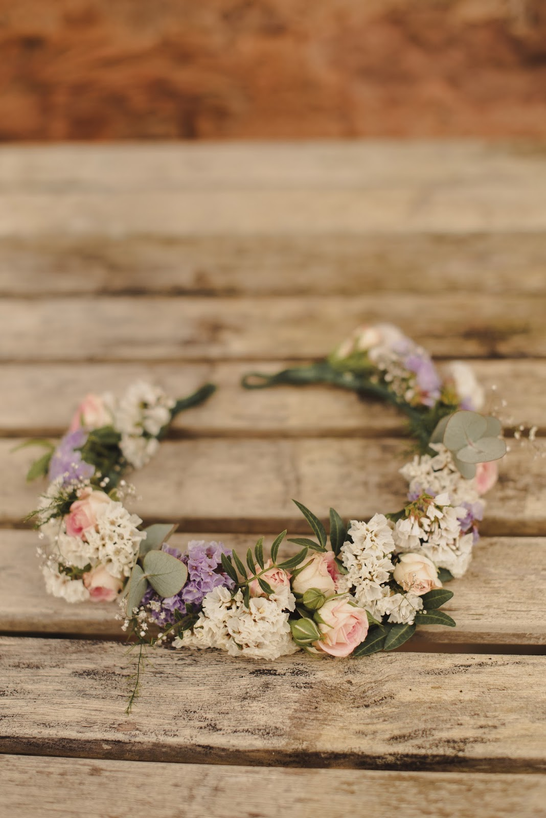 Scotland wedding inspiration flower crown
