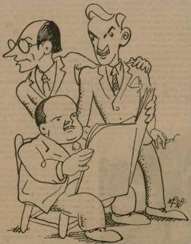 Más caricaturas de ajedrecistas