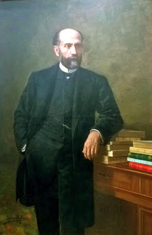 Retrato de Nicolás Salmerón, José Díaz Molina, Maestros españoles del retrato,  José Francisco Díaz Molina,  Pintores de Almería