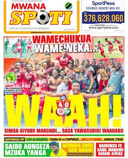Habari kubwa za Magazeti ya Tanzania leo January 7, 2021