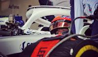 Robert Kubica testy Silverstone