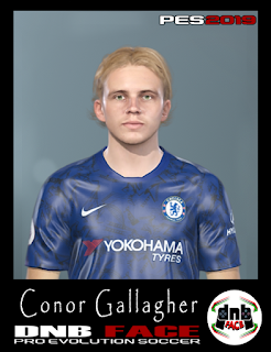 PES 2019 Faces Conor Gallagher by DNB