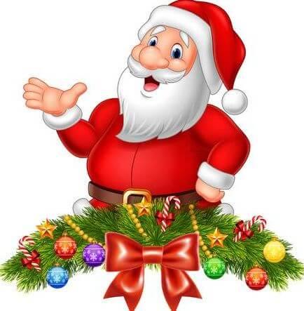 santa claus images for whatsapp dp
