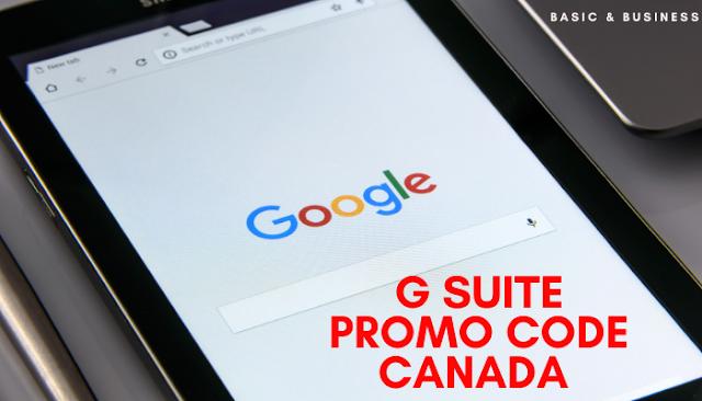 GSuite Promo code Canada