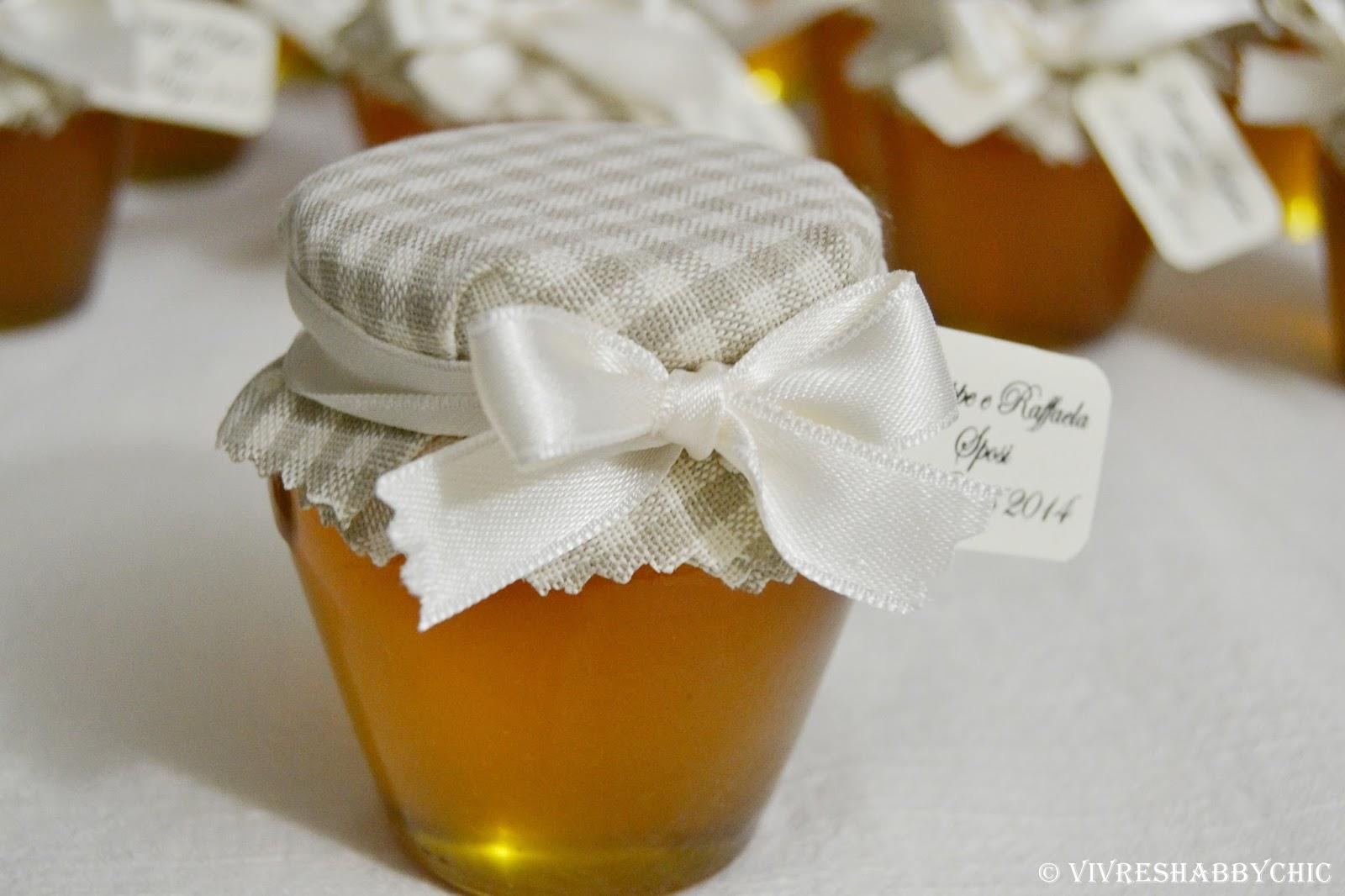 spesso Vivre Shabby Chic: Una bomboniera dolce come il Miele. WF16