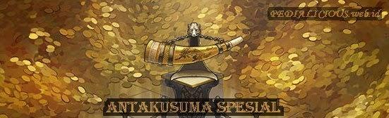 Bentuk Artefak Antakusuma Spesial dalam dunia Travian