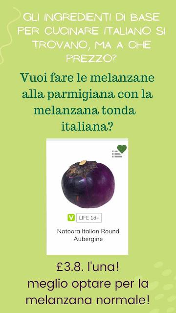 verdure italiane in inghilterra
