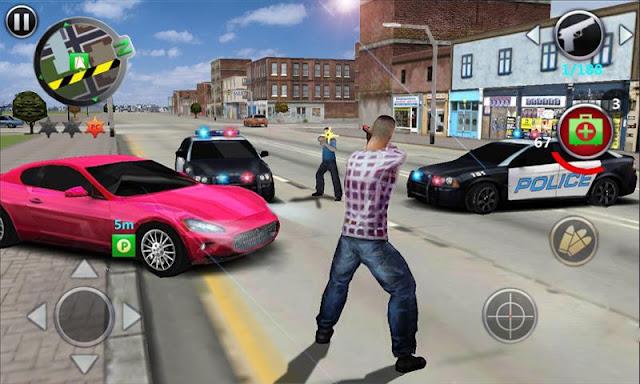 تحميل لعبة Grand Gangsters للاندرويد الشبيه باللعبة الشهيرة GTA san andreas