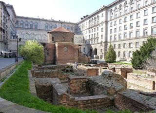 Rotonda de San Jorge o Sveti Georgi Rotunda.
