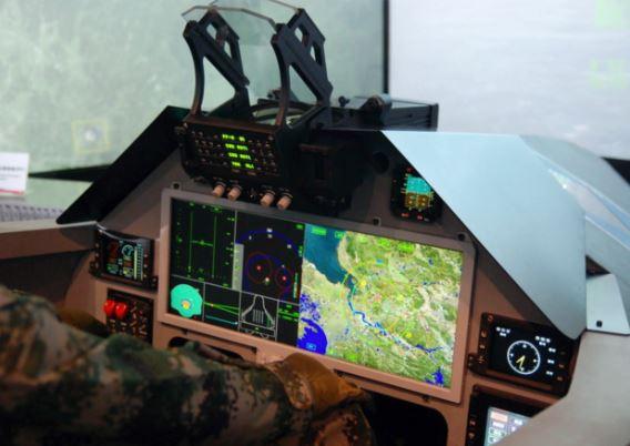 Chengdu J-20 cockpit