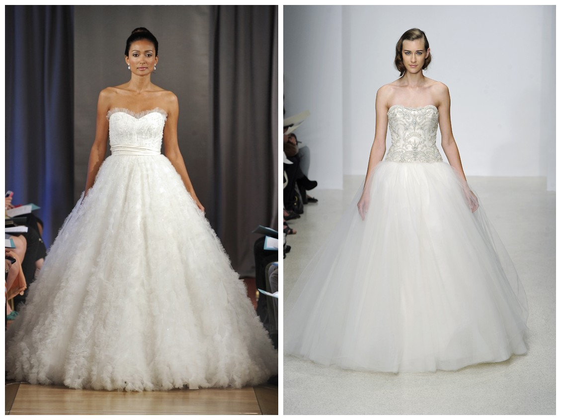 Huge Wedding Ball Gowns: RainingBlossoms: 5 Biggest Wedding Gown Trend For Spring 2013