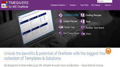 تعرف على 6 مواقع التنزيل أفضل القوالب Microsoft Onenote