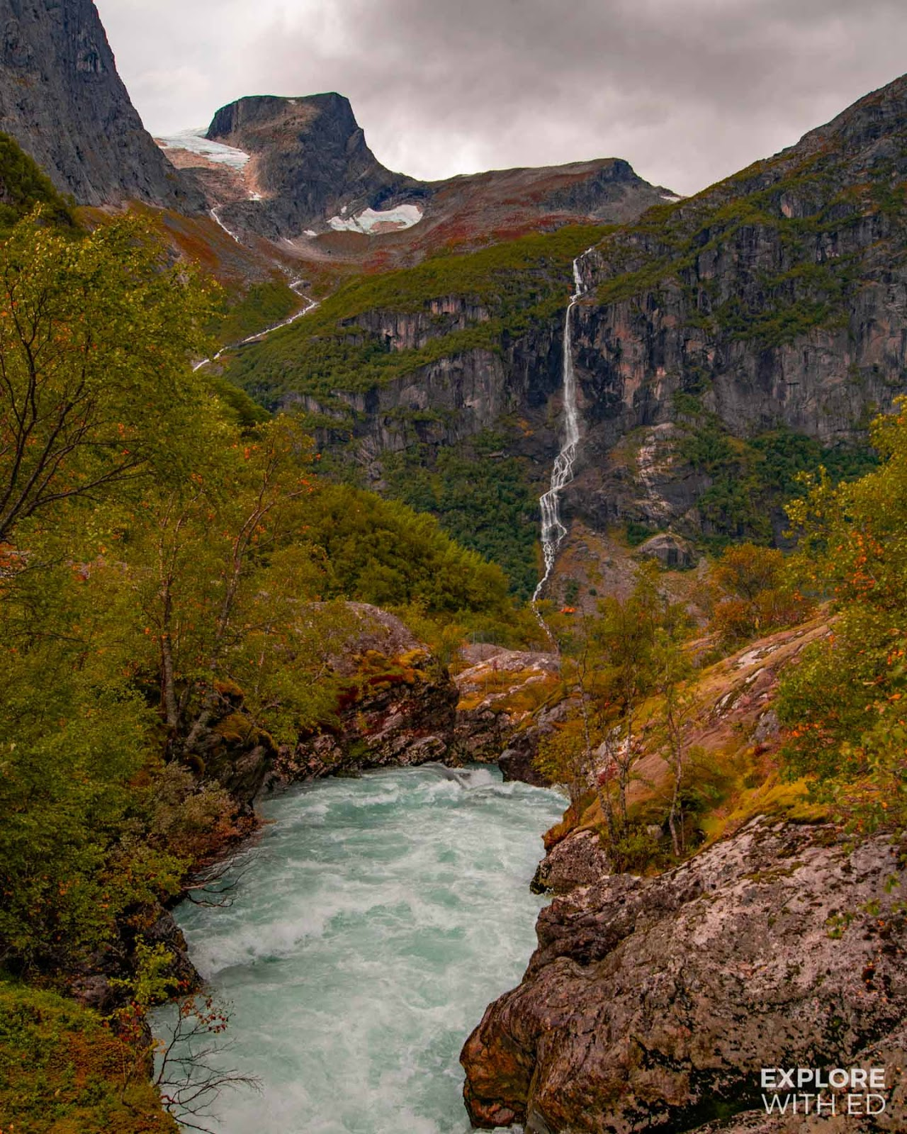 Spectacular views in Jostedalsbreen National Park