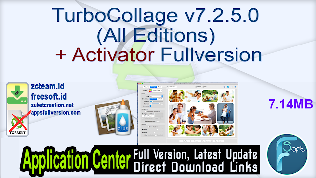 TurboCollage v7.2.5.0 (All Editions) + Activator Fullversion