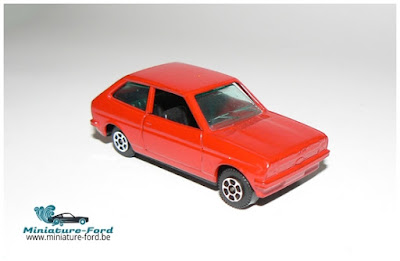 Guiloy Toys, Ford Fiesta rouge