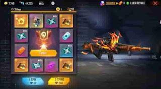 Gun Skin Free Fire Baru Dari Incubator S28: M4A1 Netherworld