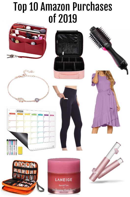 What to buy on amazon, purse organizer amazon, levaca swing dress, best lint roller, best dry erase board, lip sleeping mask, best leggings, makeup organizer amazon, cable organizer amazon, hamsa bracelet, evil eye bracelet