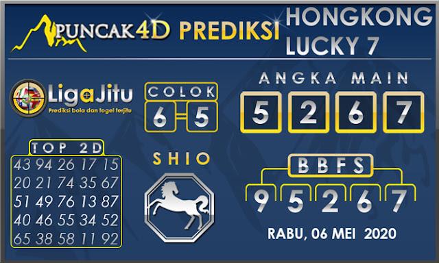 PREDIKSI TOGEL HONGKONG LUCKY 7 PUNCAK4D 06 MEI 2020