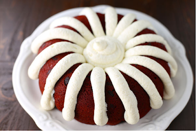 Copycat Nothing Bundt Red Velvet Cake #dessert