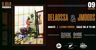 Concierto DeLaOssa + JMoods en Bogotá