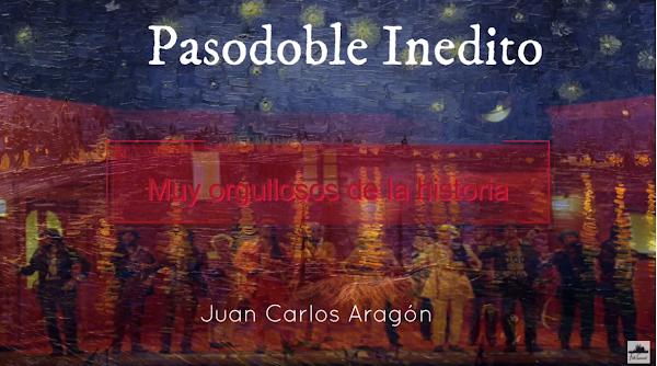 """Pasodoble INEDITO con LETRA """"Muy Orgulloso"""". Comparsa """"Noches de Bohemia"""" de Juan Carlos Aragón"""