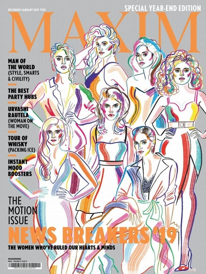 MAXIM India Year End Edition December-January 2019 Download PDF