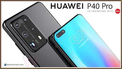 Huawei P40 Pro Live Photo Spills & Tips Dual Selfie Cameras