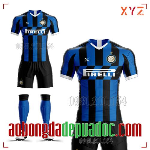 Áo Inter Milan 2020 Sân Nhà Màu Xanh Đen Đẹp Và Độc