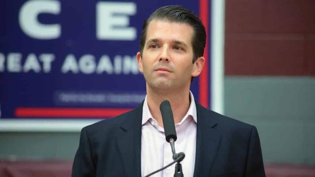 Twitter suspende filho de Trump após postagem com desinformação