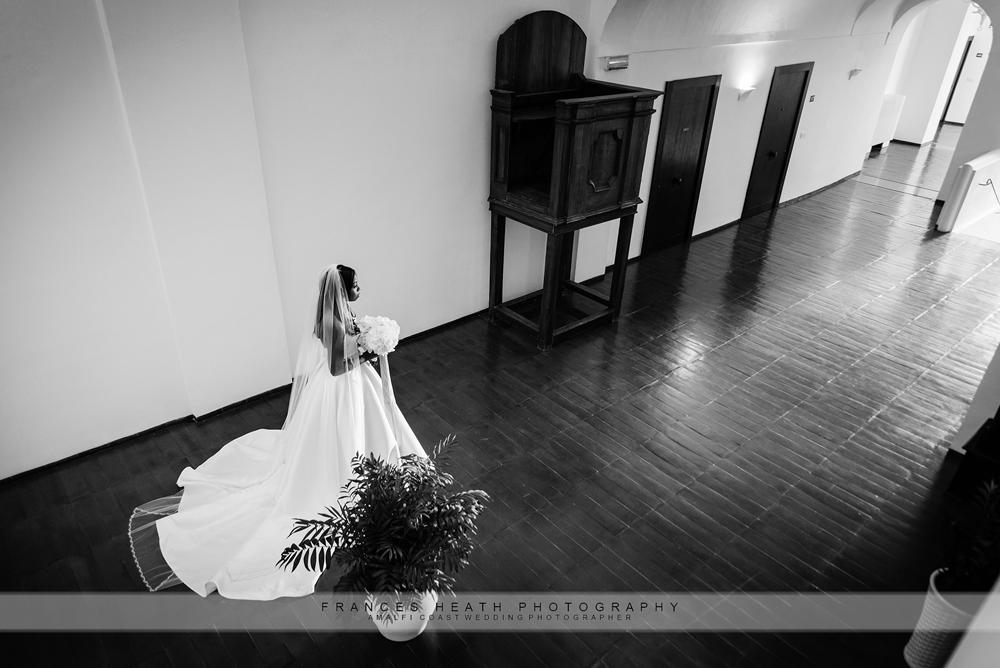 Bride at Hotel Convento