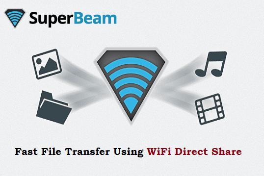 Fast file transfer using Superbeam