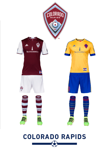 9511e9881 The 2016 Major League Soccer season is upon us and with at least one new kit  design implemented by every club here s a quick glance at the kits MLS  teams ...