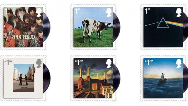 PINK FLOYD: Σε σειρά γραμματοσήμων της Royal Mail